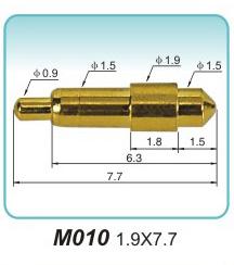造成充电枪端子上插针插孔不良的问题(图1)